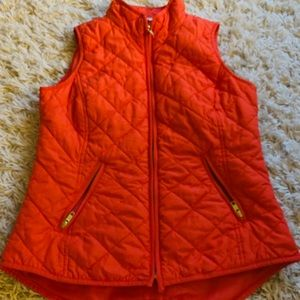 LAST CALL Crown & Ivy SMALL orange vest